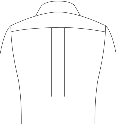 center-pleats